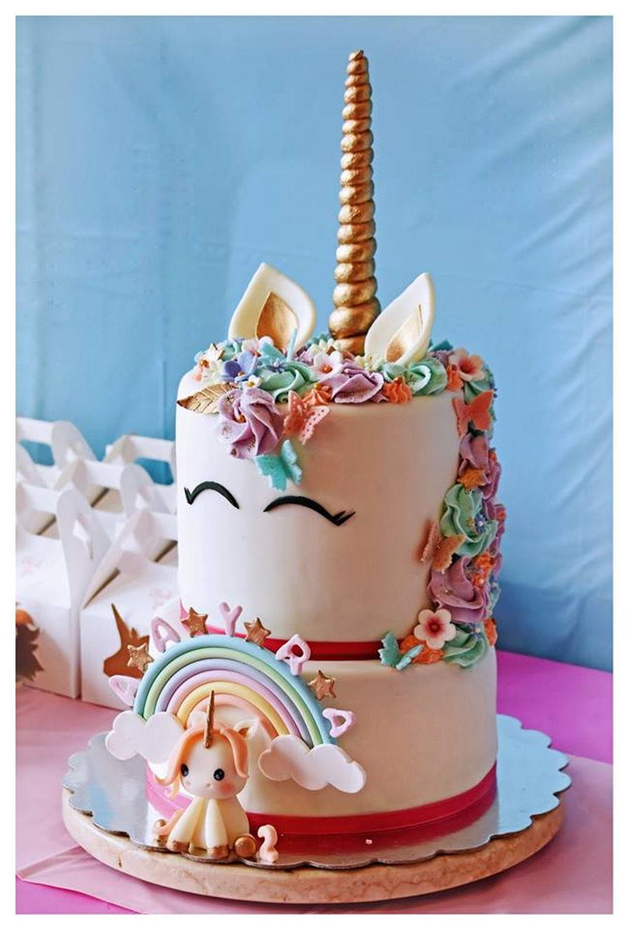 Unicorn Cake On 2Nd Bday
