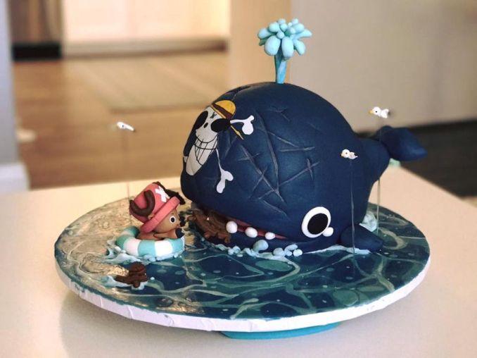 One Piece Chopper & Laboon Dental Cake - CakeCentral.com