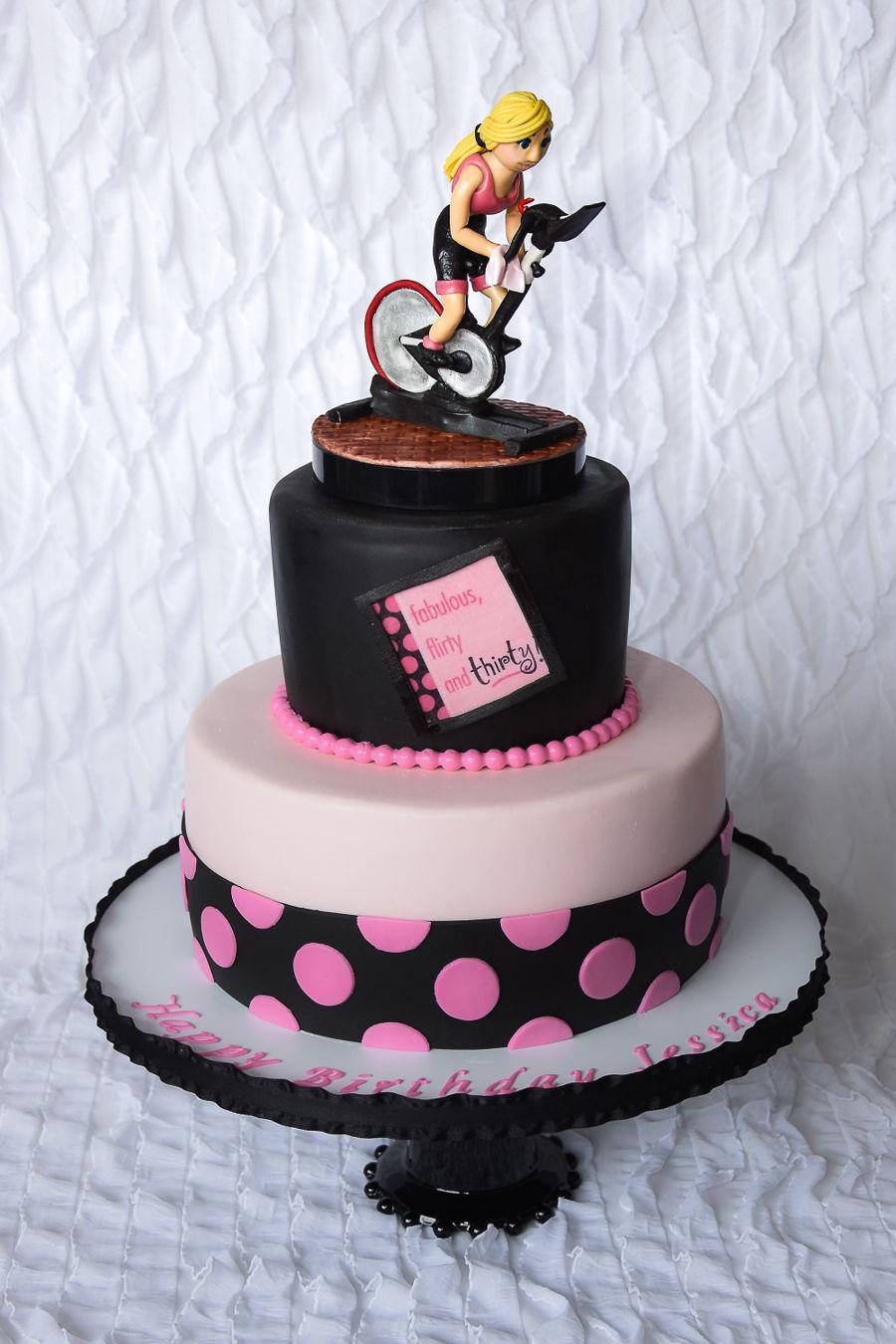 Spin Birthday Cake Cakecentral Com