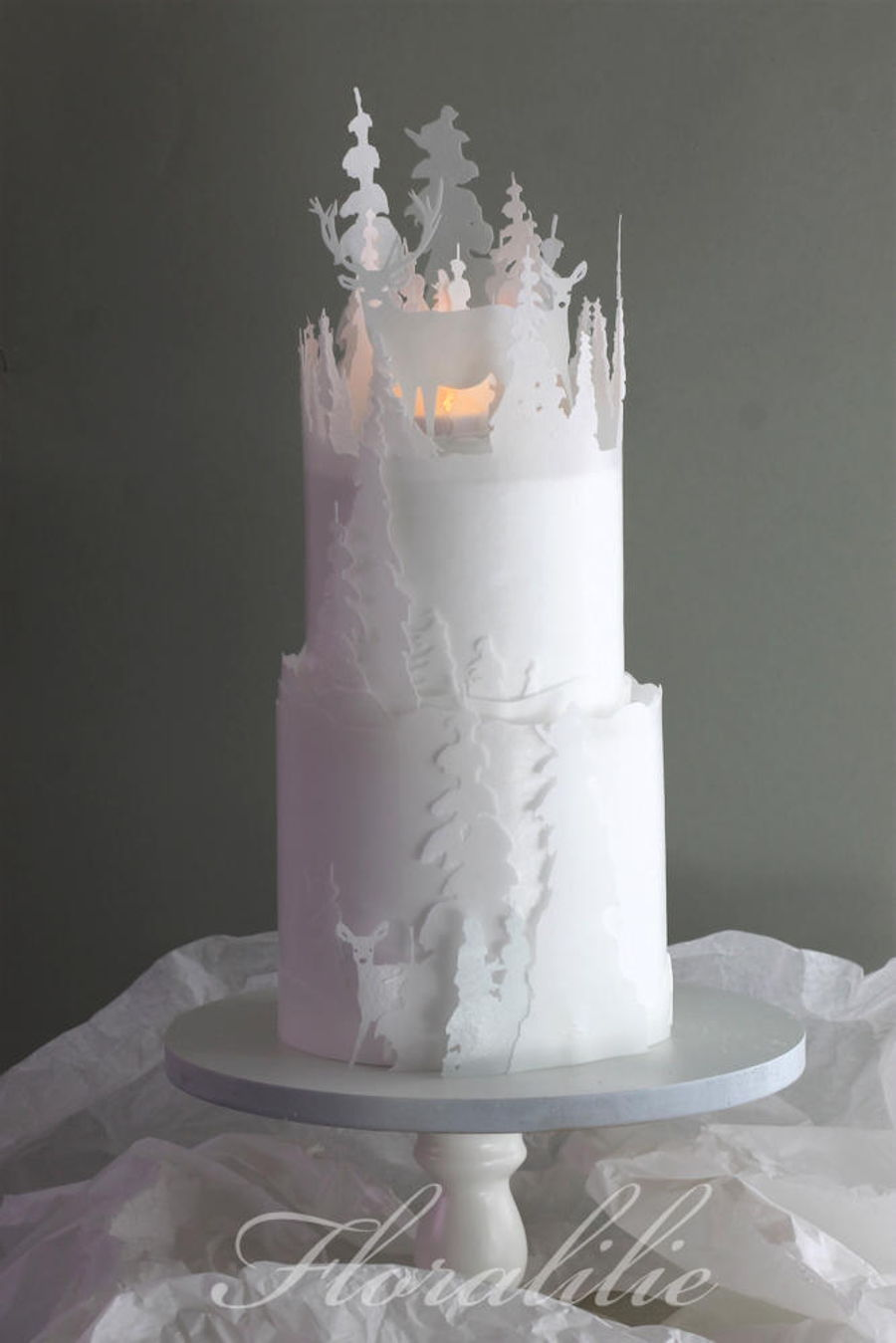 Winter Forest Cakecentral Com