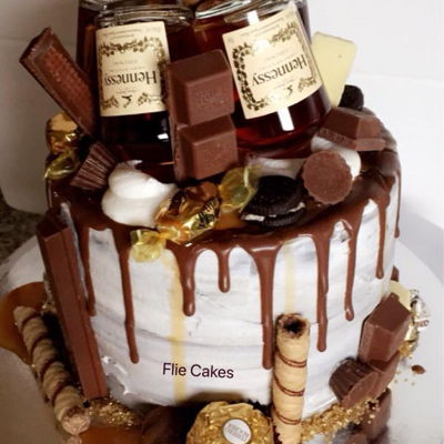 Fabulous How To Make A Hennessy Cake Recipe The Cake Boutique Funny Birthday Cards Online Alyptdamsfinfo