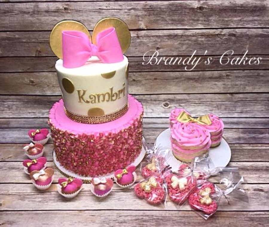 Minnie Mouse First Birthday Cakecentral Com