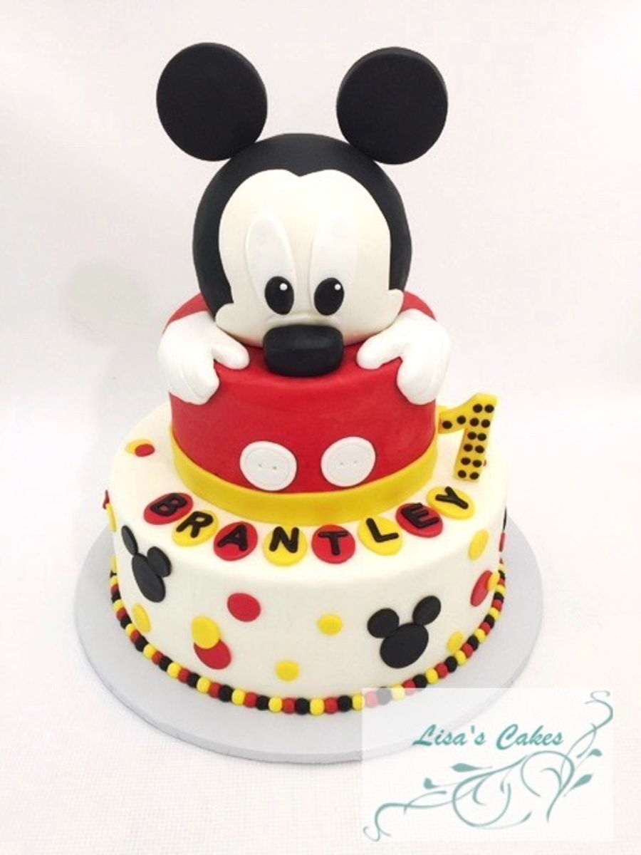 Mickey Mouse First Birthday Cake Cakecentral Com