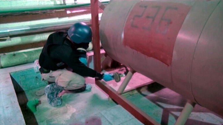 Inspectores de la OPAQ trabajan en Siria desmantelando el arsenal de Bashar Al Assad