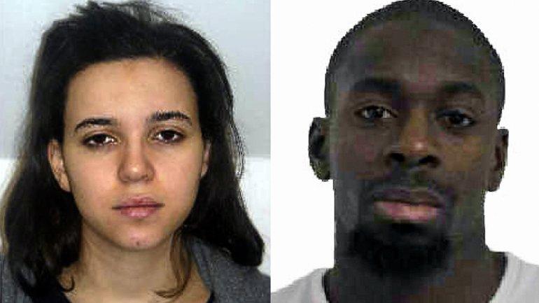 La pareja musulmana que se asoció a los Kouachi para constituir una célula de Al Qaeda en París: Hayat Boummedienne y Amedy Coulibaly