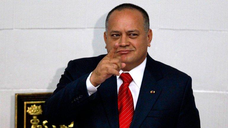 Diosdado Cabello es acusado de liderar el cártel de los Soles