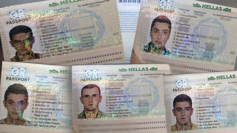 Con estos documentos robados, 5 sirios intentaron viajar a los EEUU desde Honduras