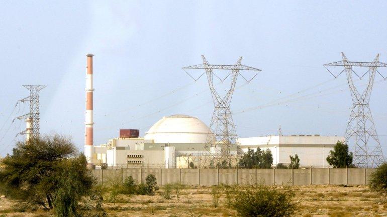 Una de las plantas nucleares de Irán