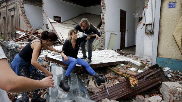 El gobierno de Uruguay declaró estado de emergencia y desplegó recursos para auxiliar a los afectados