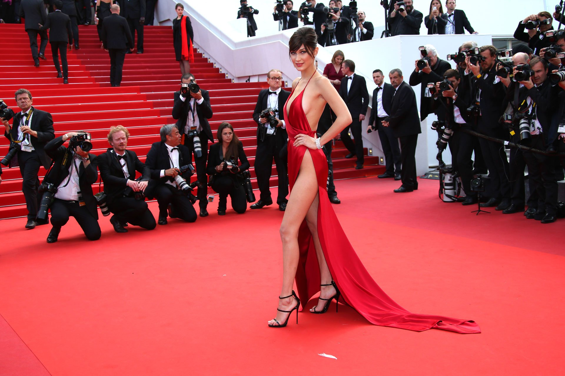 Bella Hadid - Cannes 2016