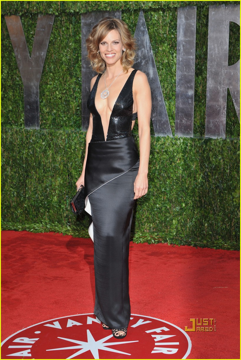 Hilary Swank Shows Some Serious Skin Photo 2433040 2010