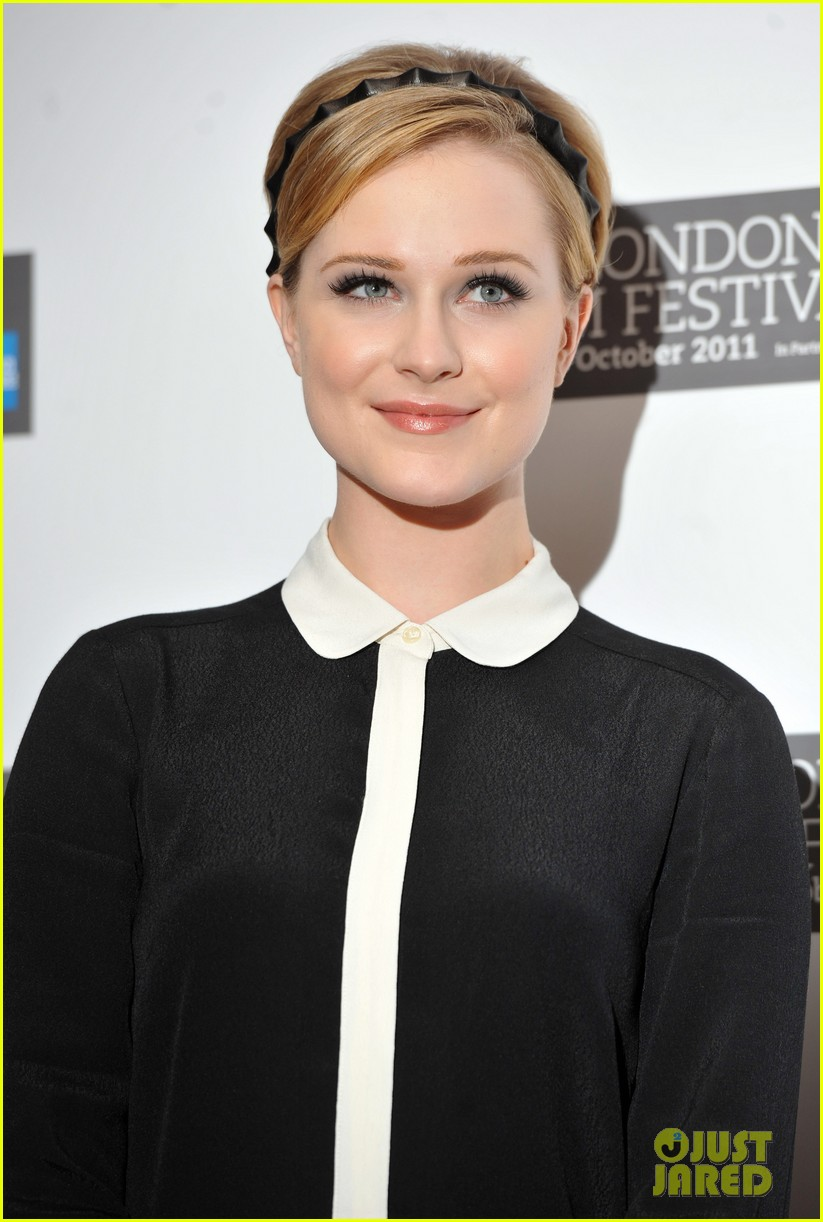 Evan Rachel Wood: 'Ides of March' Photo Call in London ...