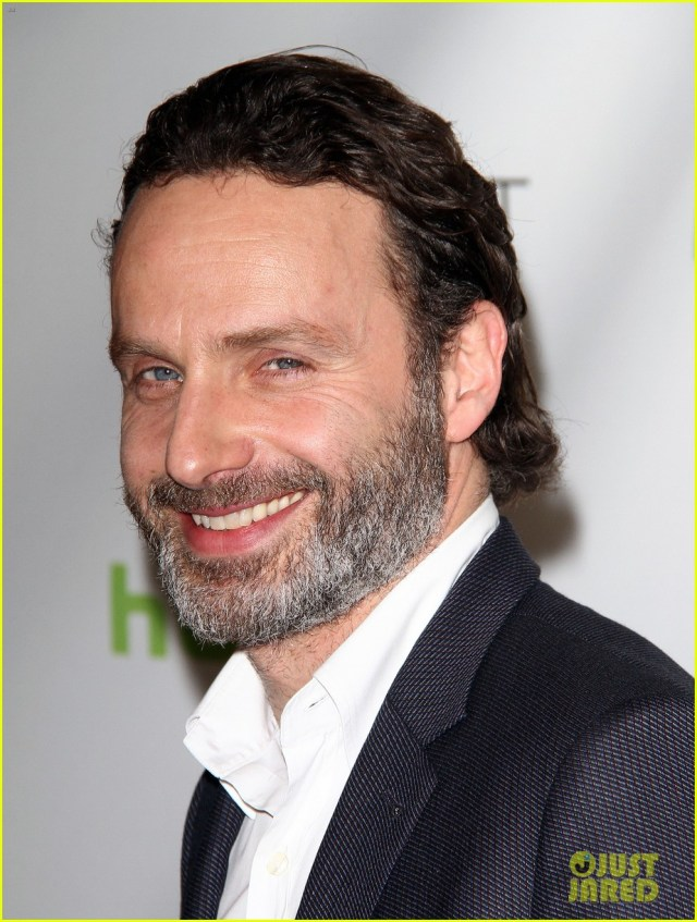 andrew lincoln & laurie holden: 'walking dead' at paleyfest