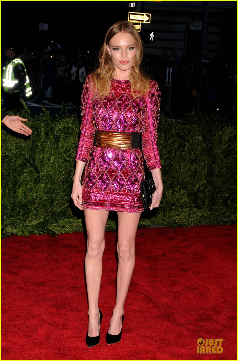 Kate Bosworth in Fall 2013 Balmain at the Met Gala