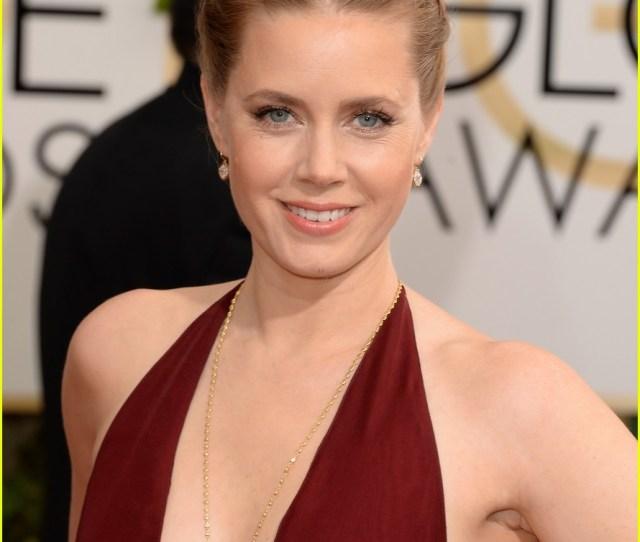 Amy Adams Golden Globes  Red Carpet