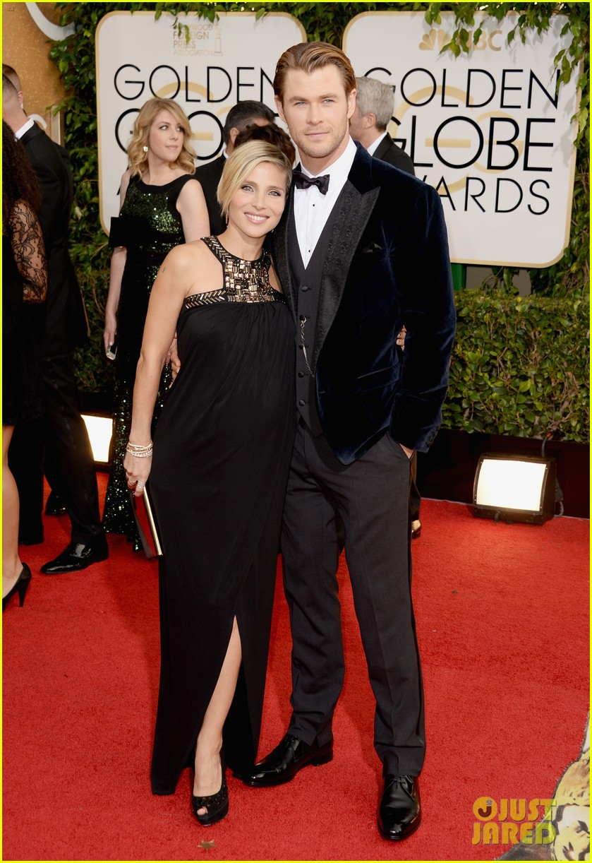 Chris Hemsworth & Elsa Pataky | Golden Globes 2013 Best Dressed | The 1000th Voice Blog