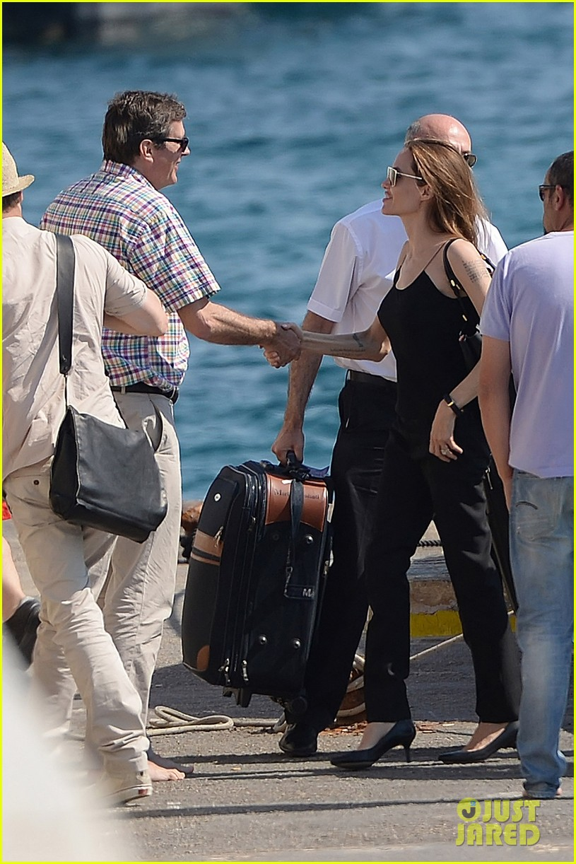 Angelina Jolie Amp Brad Pitt Scout Locations Together In Malta Photo 3132453 Angelina Jolie