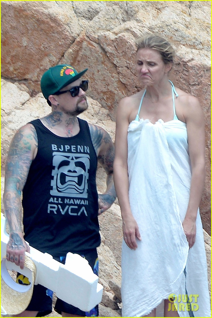 Madden Beach And Cameron Benji Diaz