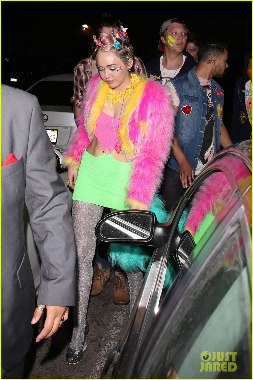 Miley Cyrus Amp Patrick Schwarzenegger Celebrate Her 22nd