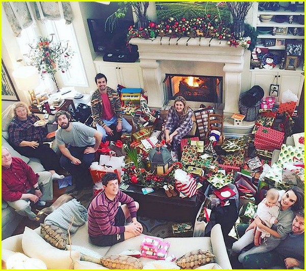 Armie Hammers Family Christmas Photo Is Picture Perfect