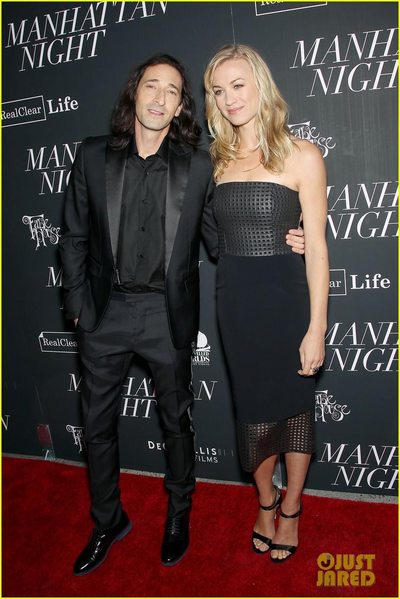 Adrien Brody Goes Shirtless In Manhattan Night Clip