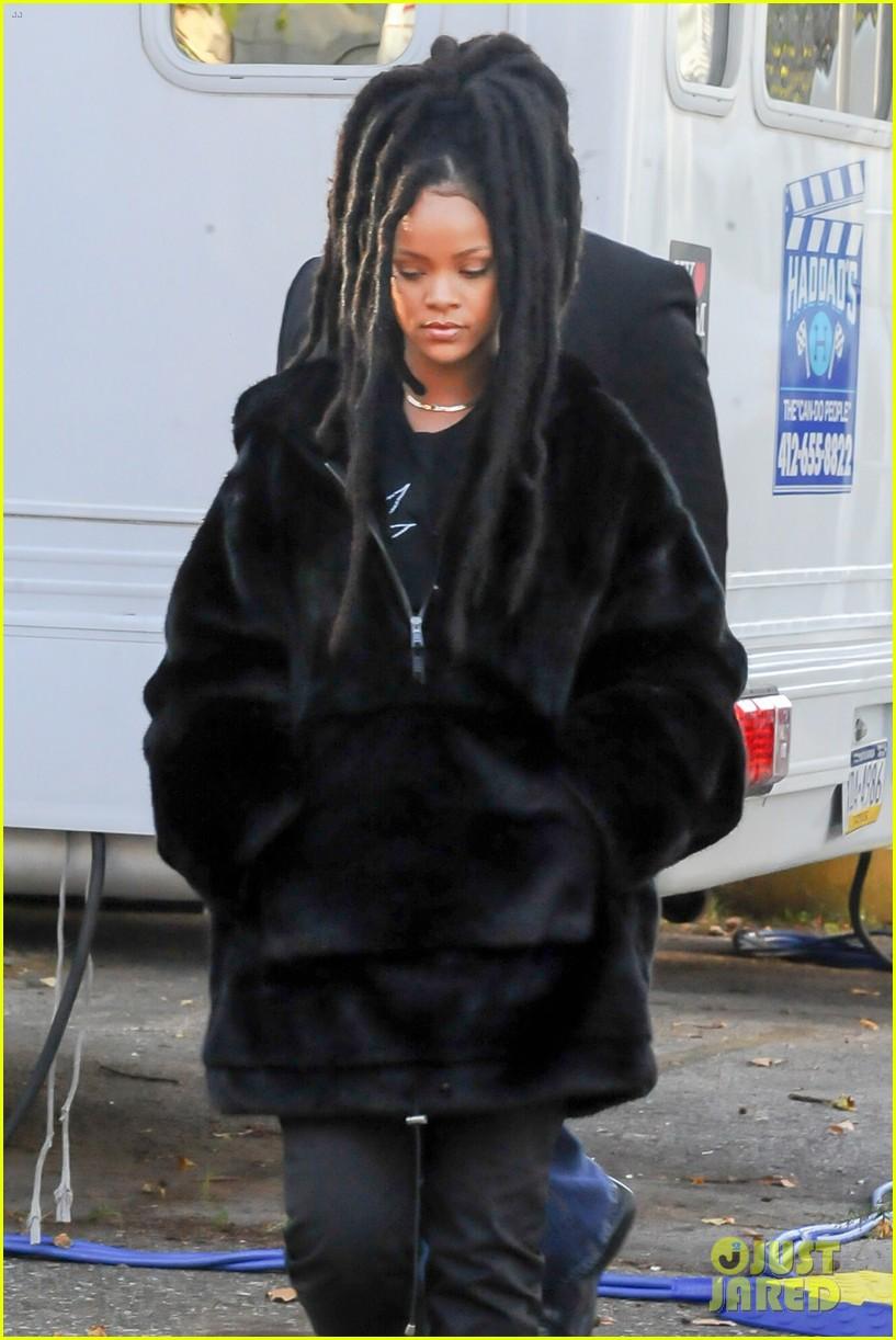 Rihanna Starts Work On Oceans Eight Movie Photo