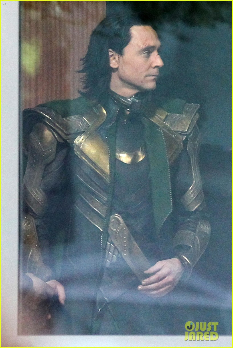 Tom Hiddleston Gets Into Loki Costume For Possible