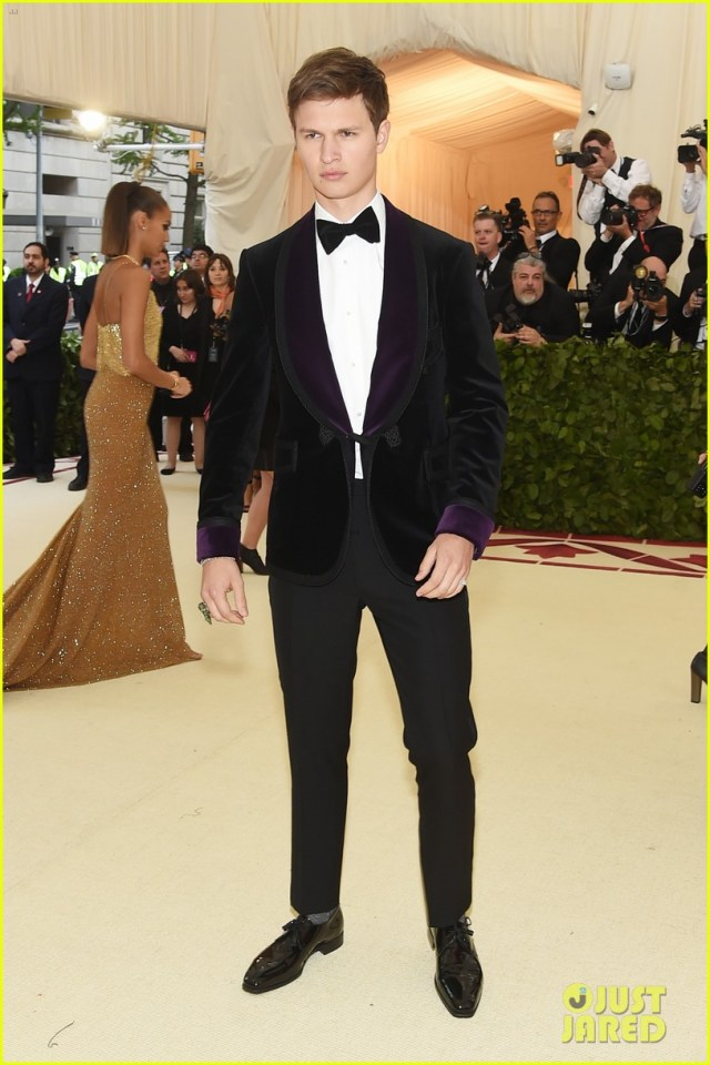 Image result for ansel met gala 2018 pictures