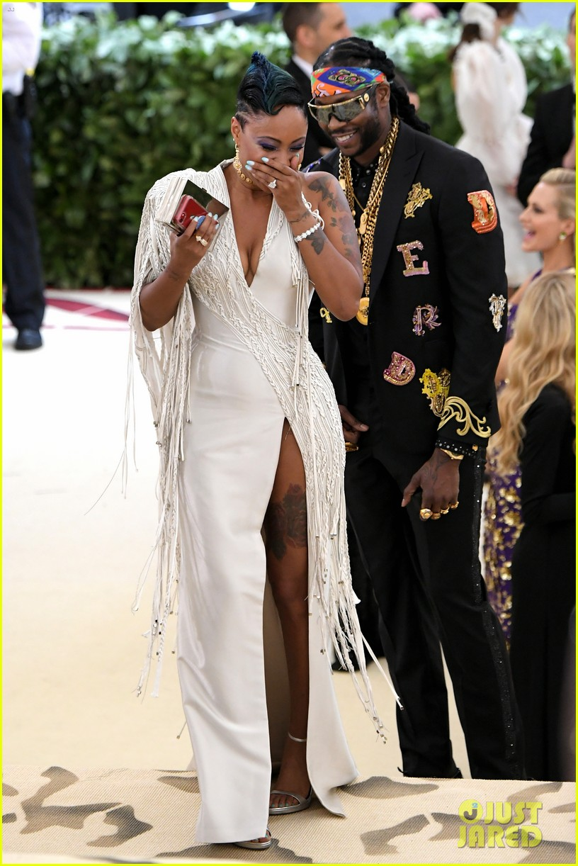 2 Chainz Proposes To Wife Kesha At Met Gala 2018 Photo