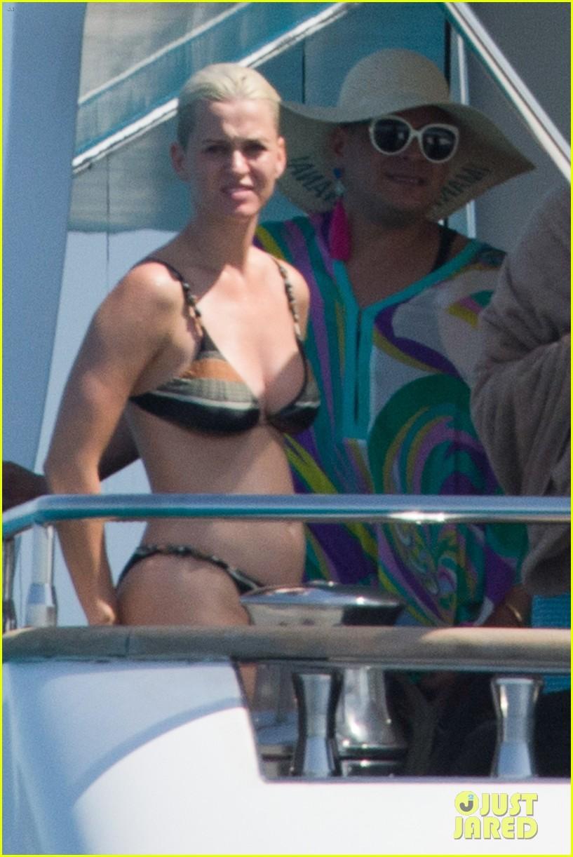 Katy Perry Hits The Beach In A Bikini In Spain Photo