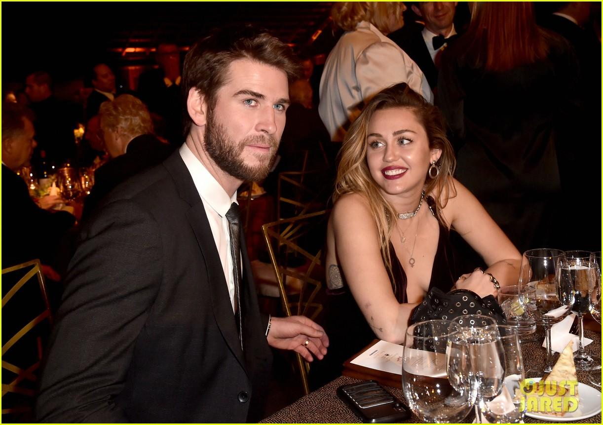 Miley Cyrus Amp Liam Hemsworth Make First Public Appearance