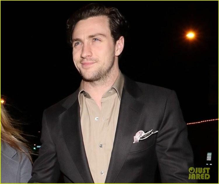 Aaron Taylor Johnson & Wife Sam Celebrate Valentine's Day ...