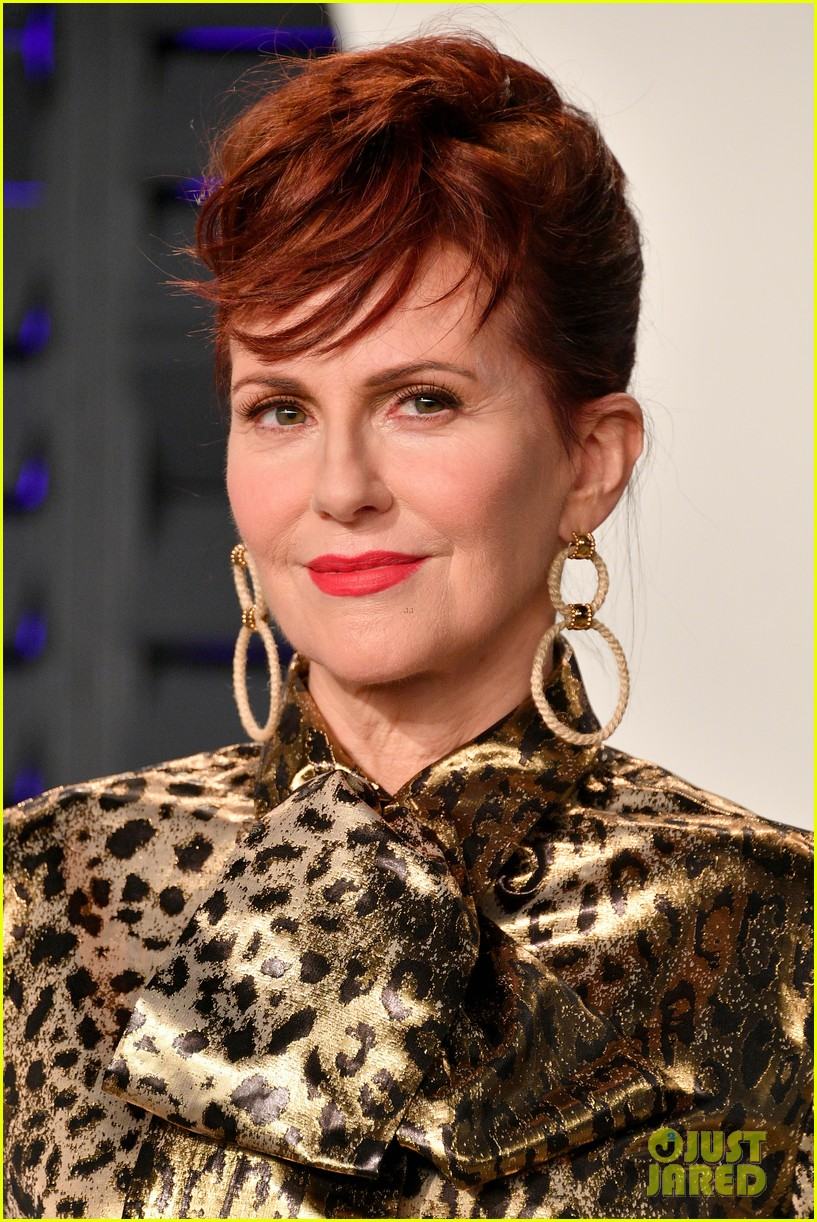 Megan Mullally Debuts Short Hair At Vanity Fairs Oscars