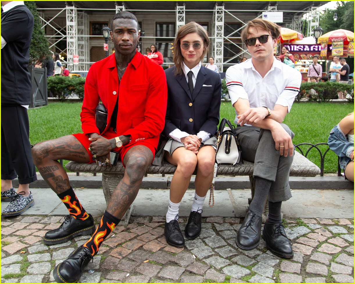 Maisie Williams Amp Natalia Dyer Step Out For Thom Browne S Nyfw Office People Event Photo