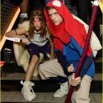 Dylan Sprouse Barbara Palvin Dress As Princess Mononoke Characters For Halloween Photo 4380247 2019 Halloween Barbara Palvin Dylan Sprouse Halloween Pictures Just Jared