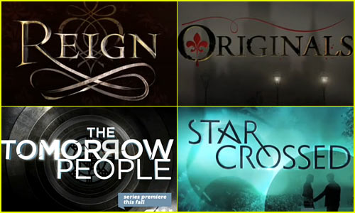 New Series CW coming Fall '13 Title Promos