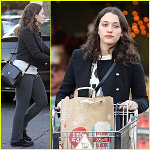 Kat Dennings Last Minute Thanksgiving Grocery Shopping