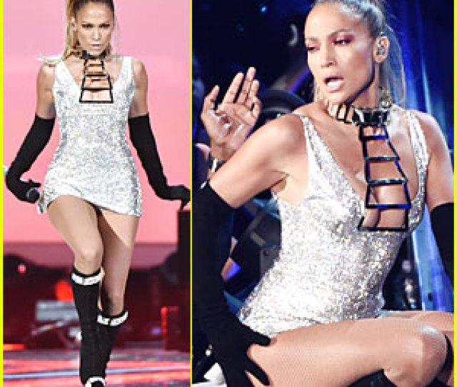 Jennifer Lopez Shows Off Big Booty At Fashion Rocks  Video