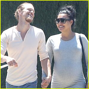 Naya Rivear & Ryan Dorsey Go Shopping Before Baby Comes