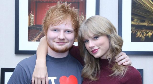 Ed Sheeran Reveals How Taylor Swift Prevents Music Leaks Ed Sheeran Music Taylor Swift Just Jared