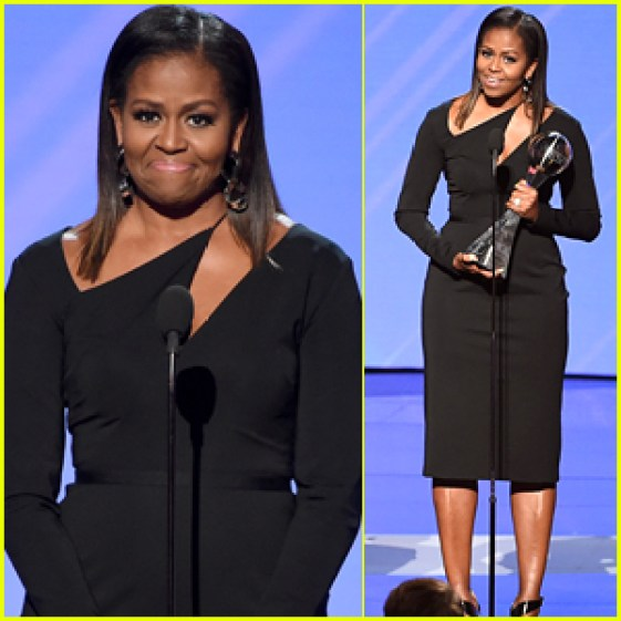 Michelle Obama Makes Surprise Appearance at 2017 ESPYS