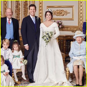Princess Eugenie & Jack Brooksbank's Official Wedding Portraits Revealed!