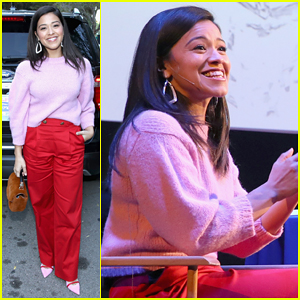 Gina Rodriguez Hosts Breaking The Glass Ceiling Discussion!
