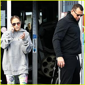 Jennifer Lopez & Alex Rodriguez Continue Their Couple Workouts!