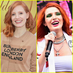 Jessica Chastain & Bella Thorne Combine Faces in 10 Year Challenge Video - Watch!