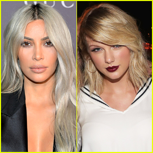 Kim Kardashian Jams to Taylor Swift After 'Moving On' From Feud - Watch!
