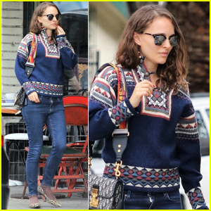 Natalie Portman Grabs Lunch with a Friend in Los Feliz
