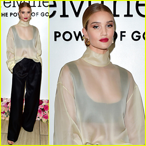 Rosie Huntington-Whiteley Announces Charity Initiative for New BareMinerals Lipstick