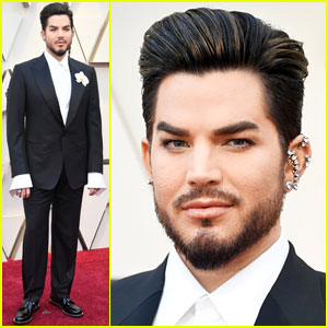 Adam Lambert Hits Oscars 2019 Red Carpet Before Performance with Queen!