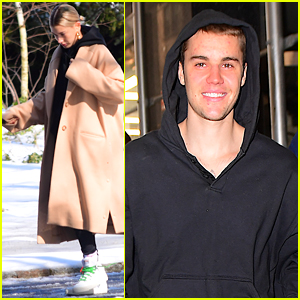 Justin Bieber is All Smiles While Stepping Out in NYC!